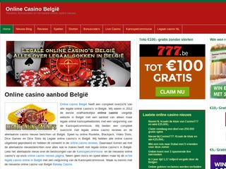 Legaleonlinecasinos.be